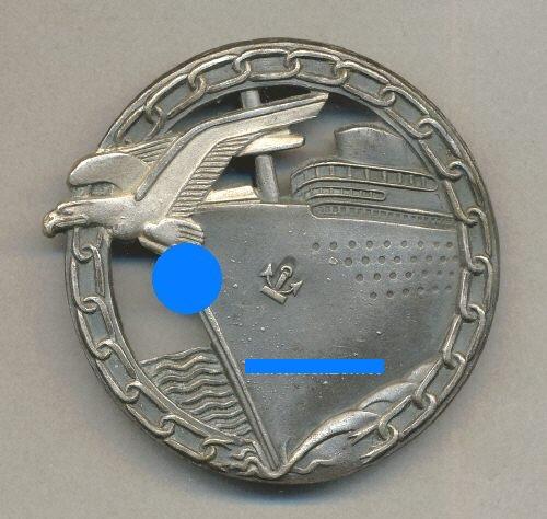 Insigne Kriegsmarine briseur de blocus  20539611