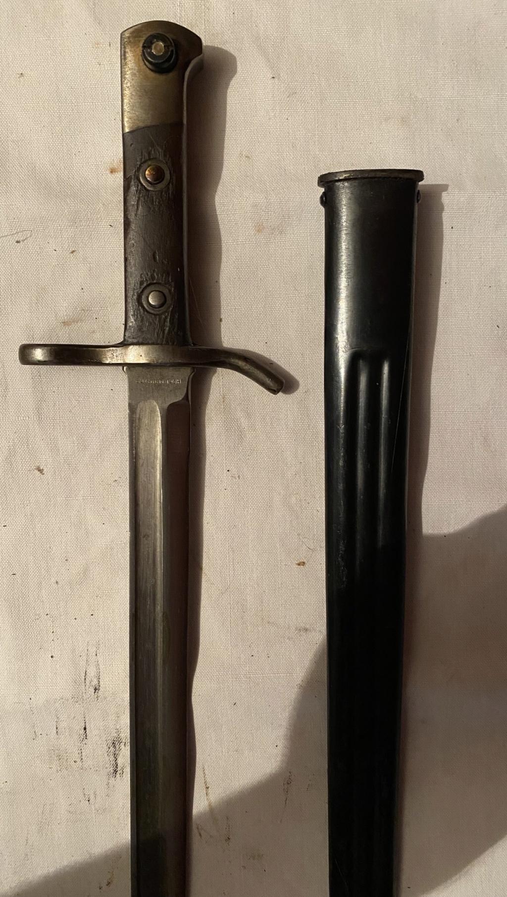 52 armes blanches ! Baïonnettes, dagues, toutes nationalités et époques ! Part 1 21_210