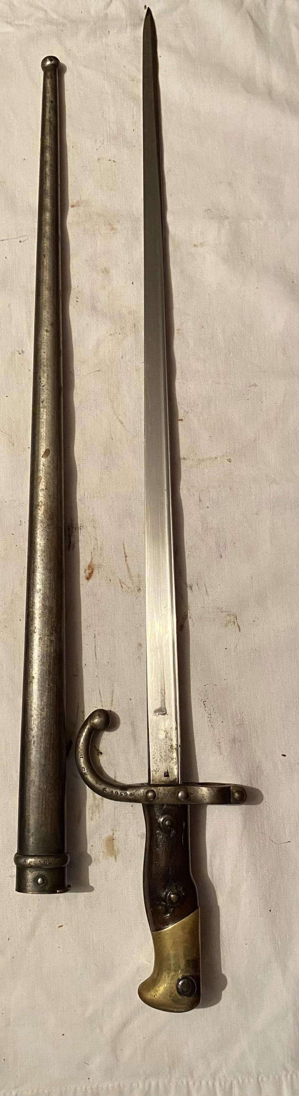 52 armes blanches ! Baïonnettes, dagues, toutes nationalités et époques ! Part 2 26_110