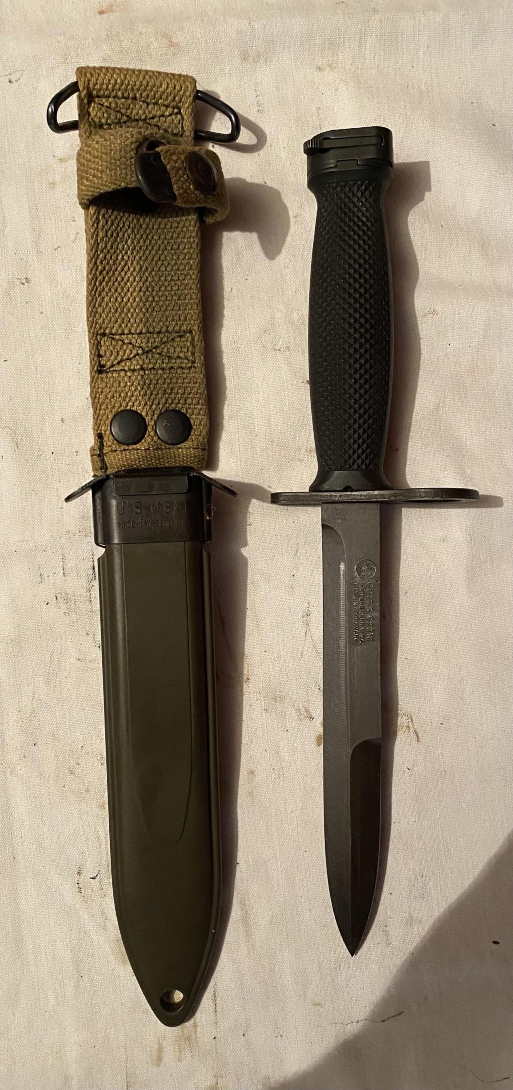 52 armes blanches ! Baïonnettes, dagues, toutes nationalités et époques ! Part 2 32_110