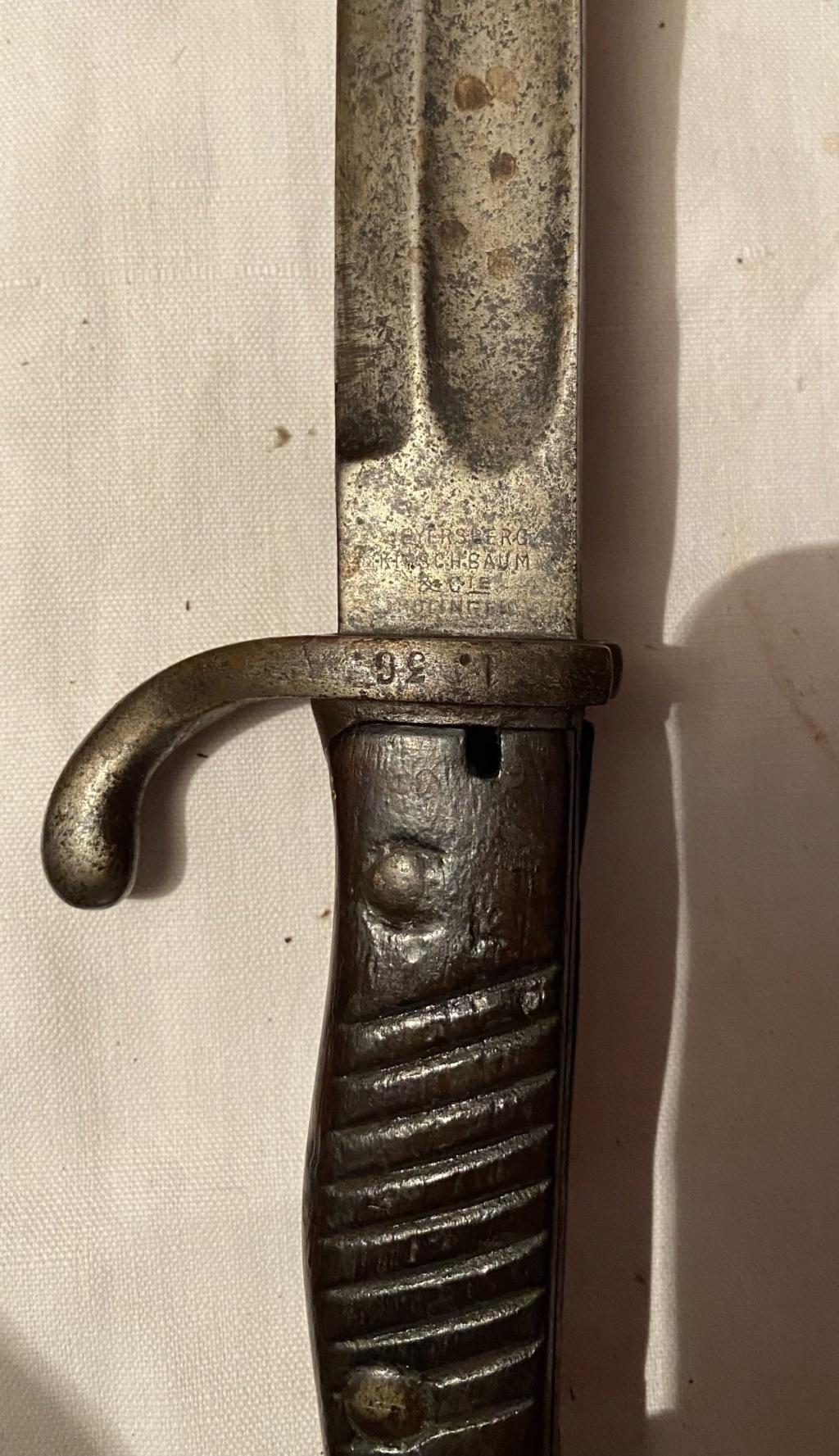 52 armes blanches ! Baïonnettes, dagues, toutes nationalités et époques ! Part 1 3_210