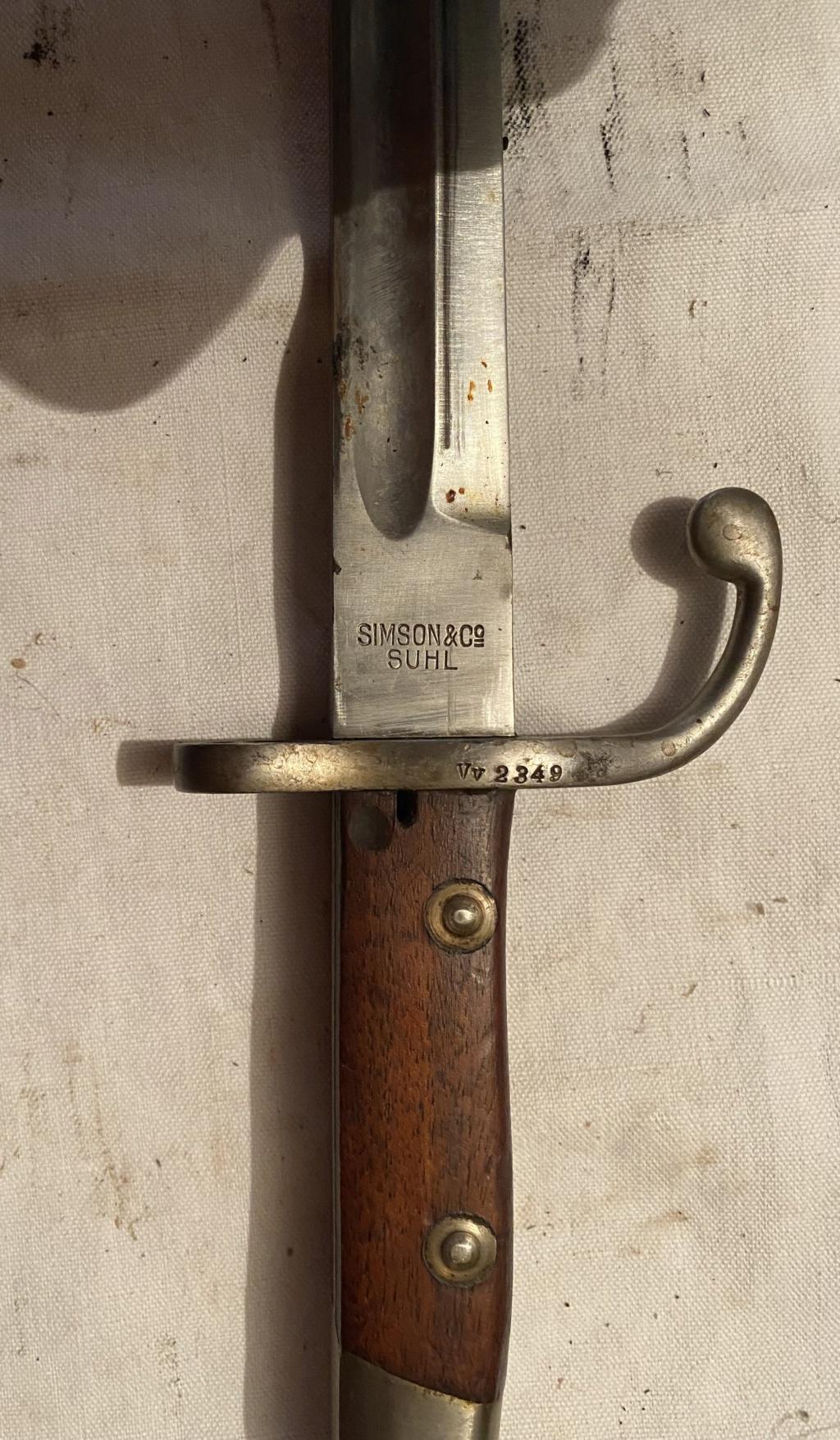 52 armes blanches ! Baïonnettes, dagues, toutes nationalités et époques ! Part 2 43_310