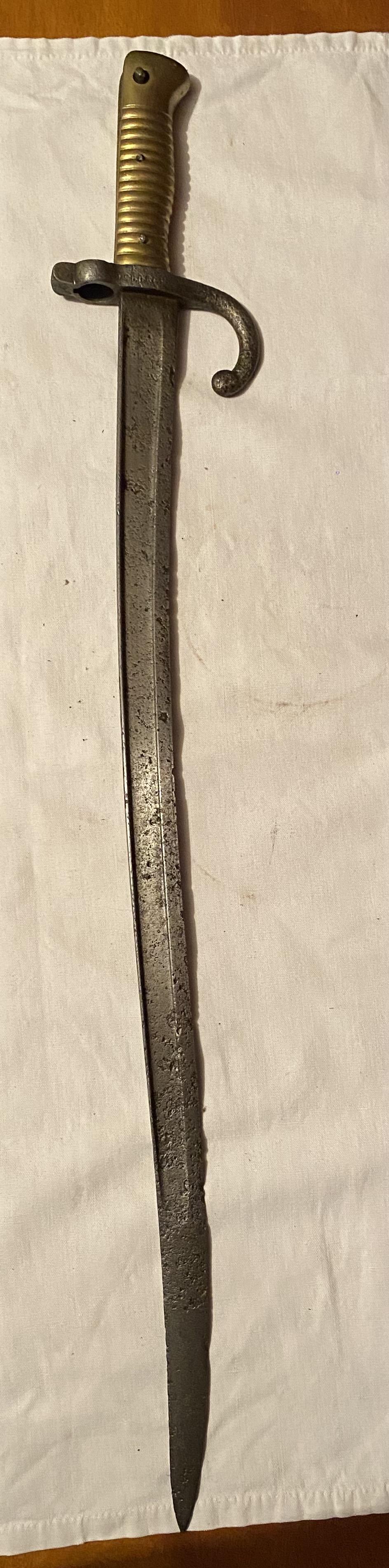 52 armes blanches ! Baïonnettes, dagues, toutes nationalités et époques ! Part 1 4_110