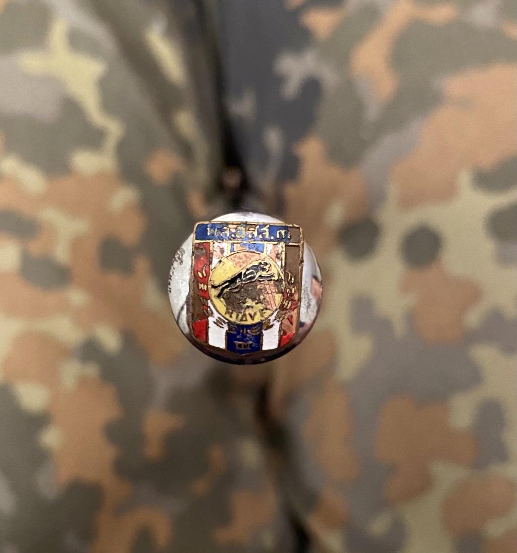 Insigne inconnu sur bâton de commandement  74c10710