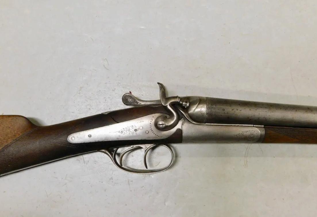 Estimation fusil de chasse double, à percussion centrale Captur40