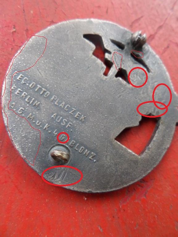 Insigne Kriegsmarine briseur de blocus  Sam_0210