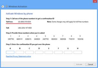 Activate Windows 8 ( via Phone ) - Request Here! 1010