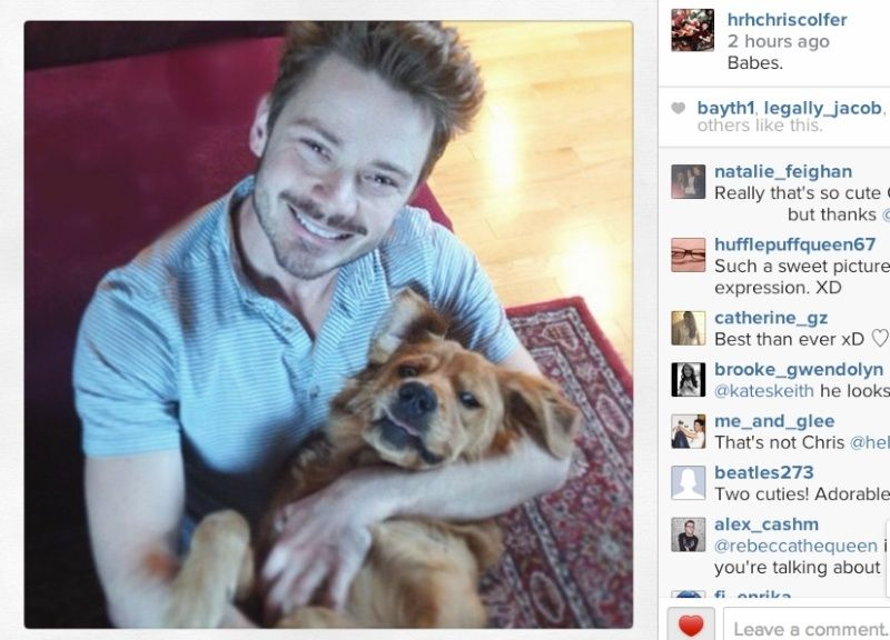 Chris Colfer Instagram - Page 4 Screen10
