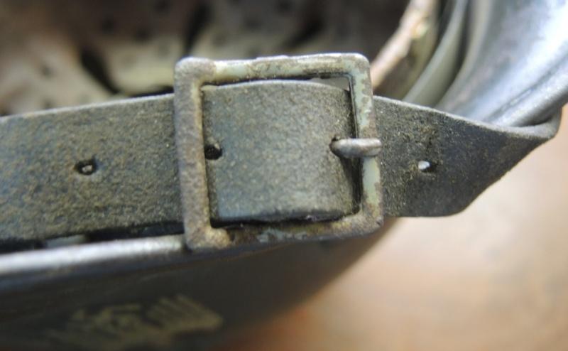 La jugulaire du casque allemand Dscn6928