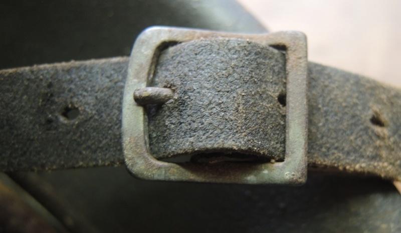 La jugulaire du casque allemand Dscn7025