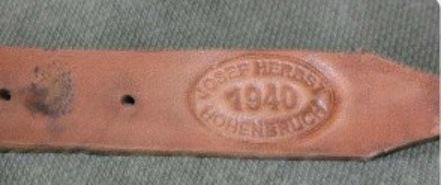 La jugulaire du casque allemand German11
