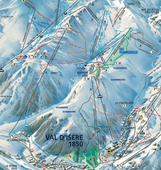 [Val d'Isère] Données sur les pistes Killys10