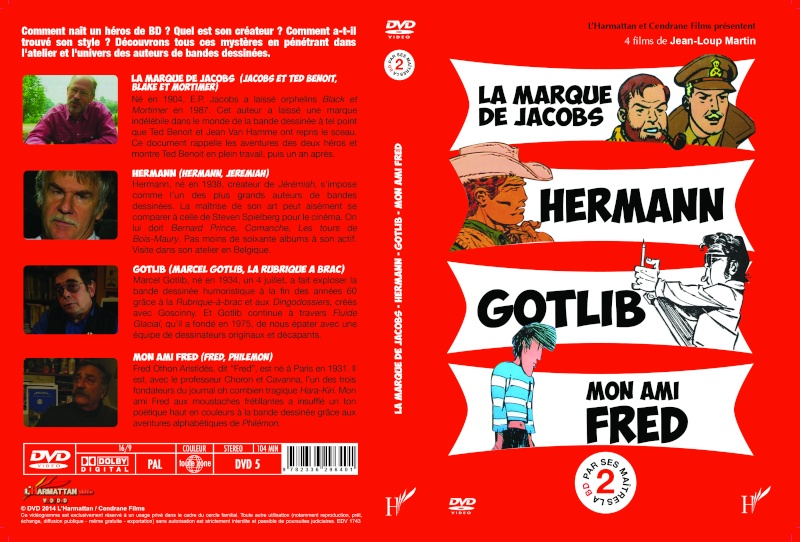 """DVD """"La BD par ses maîtres"""" Bdvolu11"""
