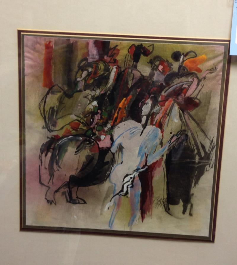 Painting - Batty? Img_2016
