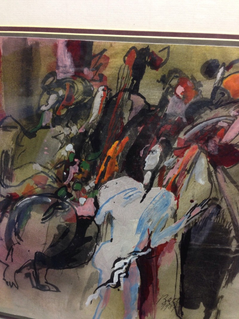 Painting - Batty? Img_2018