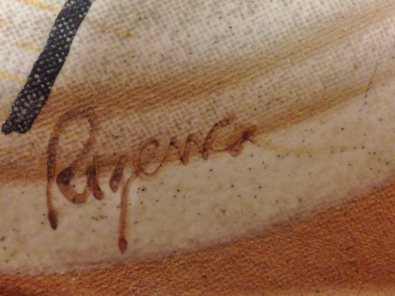 Large platter by Antonia Roig,  Rogenca Ceramista, Spain Img_3712
