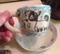 Cup & saucer - The Robin Therob11