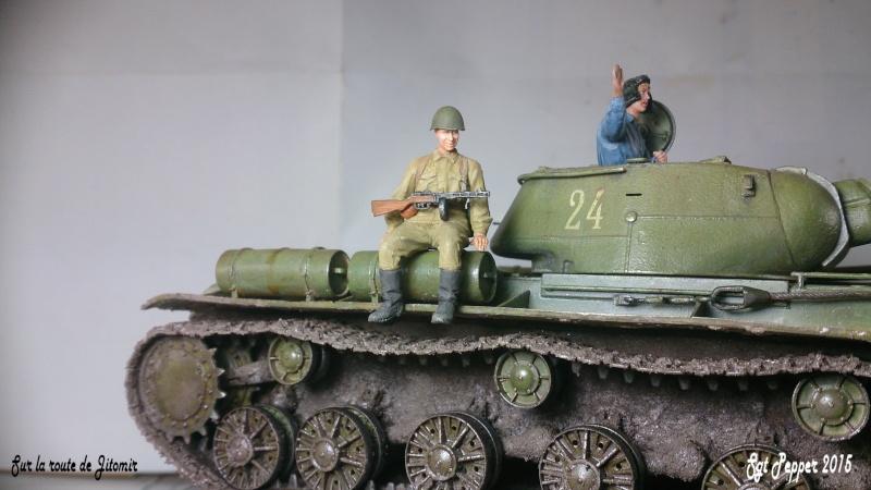 Sur la route de Jitomir - Les figurines Kv1-s310