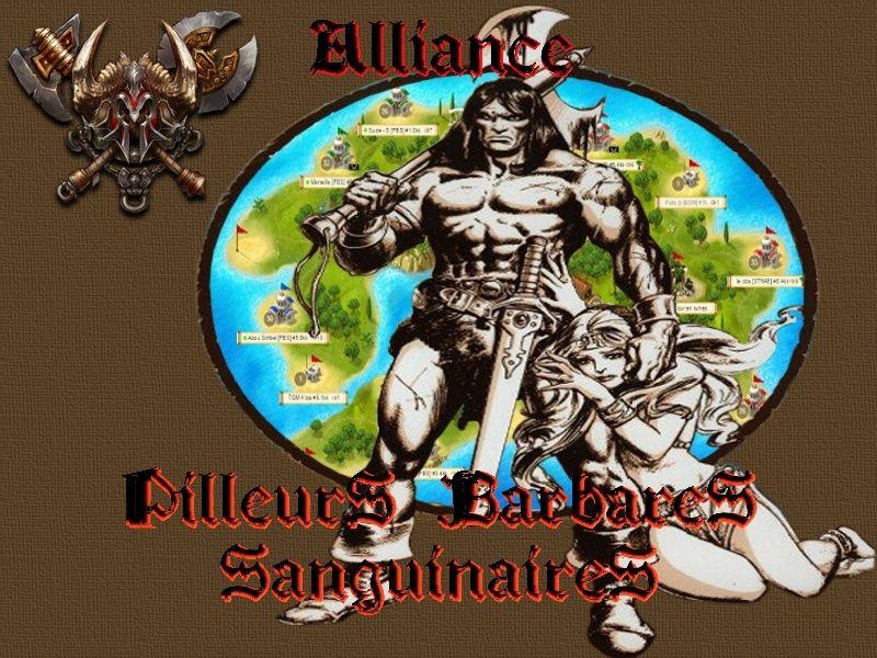 Alliance Pilleurs Barbares Sanguinaires
