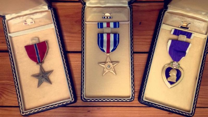Trio de Choc ! Médailles US  10360210