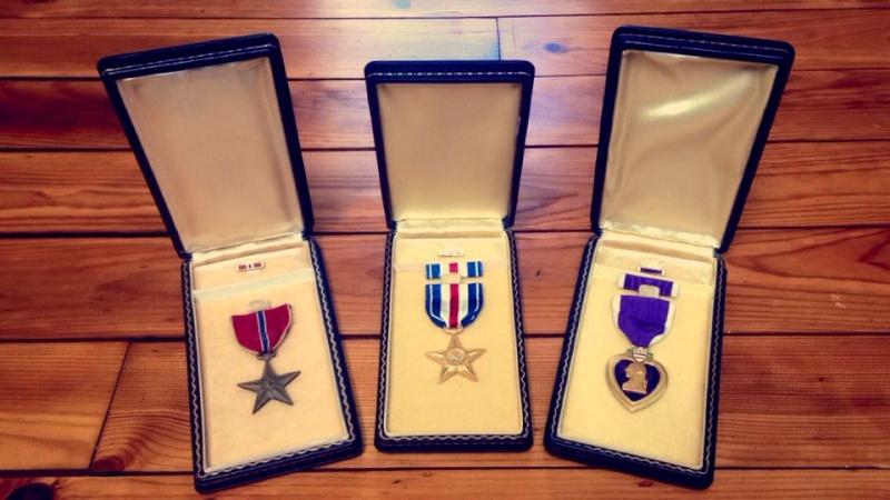 Trio de Choc ! Médailles US  10592810