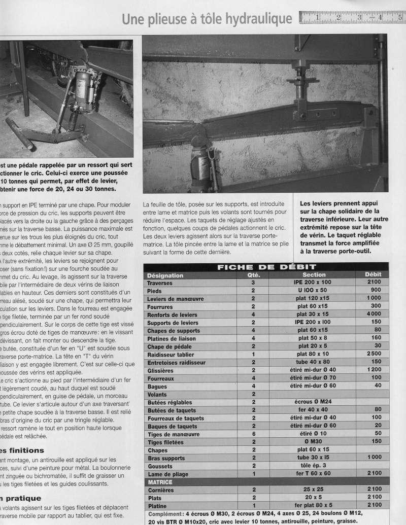 Ma rouleuse à tôle terminée - Page 2 Plieus13