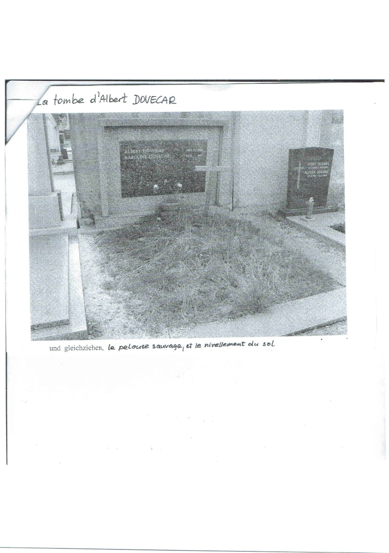 La tombe d'Albert DOVECAR (Urgent) Doveca12