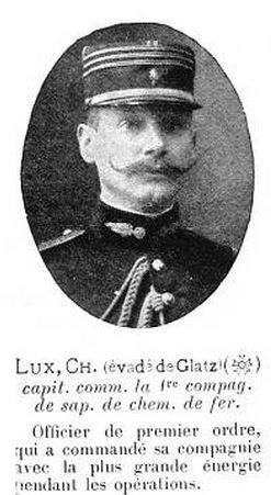 L'incroyable évasion du capitaine Charles Lux . Lux210