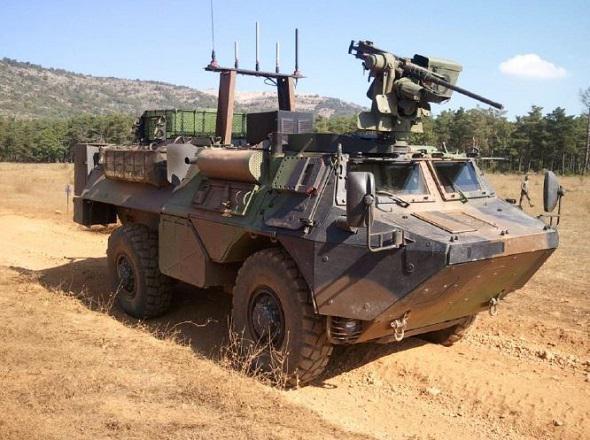 Le VAB Ultima « Génie » bientôt livré à l'armée de Terre . Vabult10