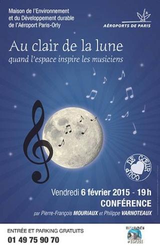 6 février 2015 / Au clair de la lune - Quand l'espace inspire les musiciens / Orly (91) 10686810