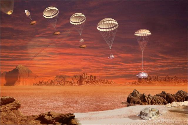 10ème anniversaire de l'atterrissage de Huygens sur Titan - 14 janvier 2005 18800810