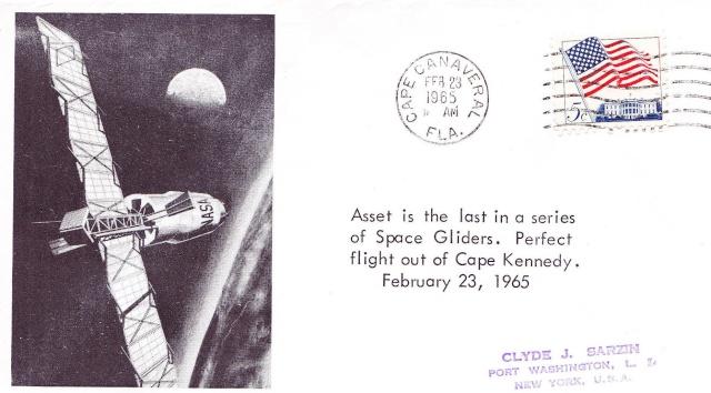 23 février 1965 / ASSET 6 - Dernier vol du programme ASSET / 50 ans 1965_010