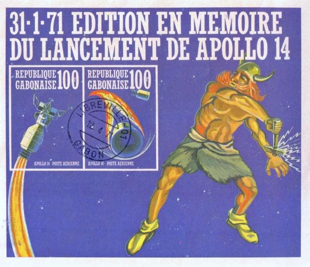La mission Apollo 14 par la philatélie 1971_a10