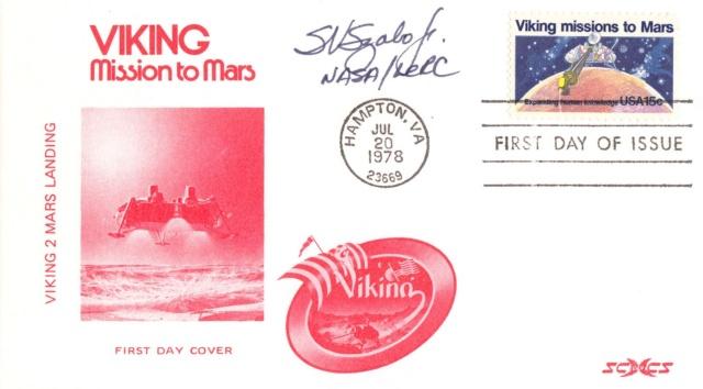Philatélie spatiale USA - 1978 - Viking sur Mars 1978_010