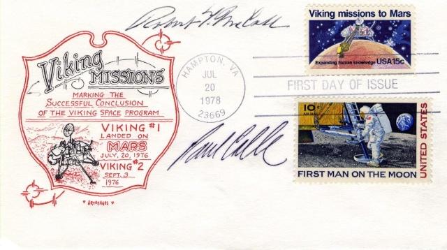 Philatélie spatiale USA - 1978 - Viking sur Mars 1978_011