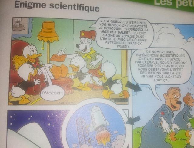 [presse écrite] Journal de Mickey et l'espace 2013-010