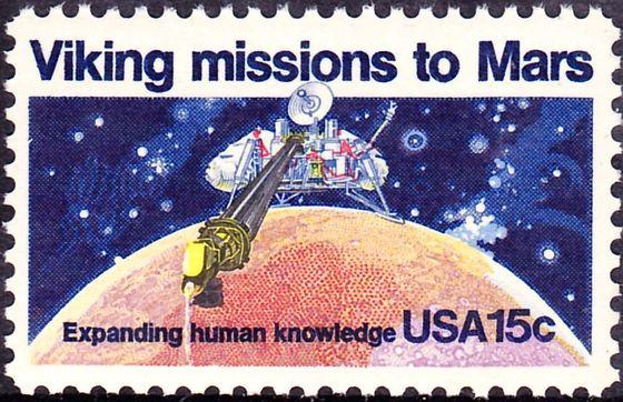 Philatélie spatiale USA - 1978 - Viking sur Mars Aaa11
