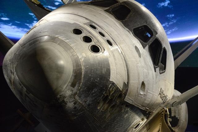 Les navettes spatiales Atlantis et Endeavour au musée Atlant10