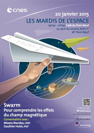 20 janvier 2015 - Conférence (les mardis du CNES) - La mission SWARM B7t1rj10