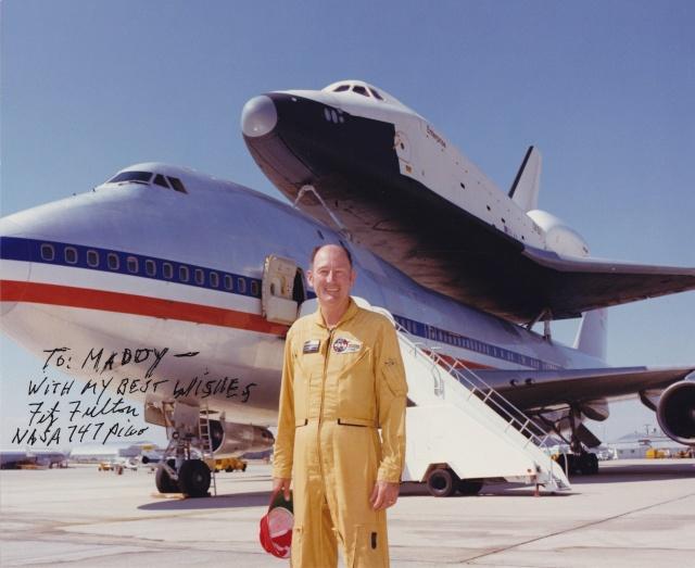 Disparition du pilote d'essais de la NASA Fitz Fulton (1925-2015) Fulton10