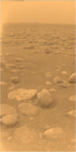 10ème anniversaire de l'atterrissage de Huygens sur Titan - 14 janvier 2005 Huygen10
