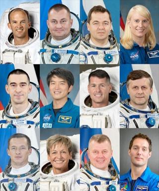 Sélection des équipages Expedition 48-49-50 Iss_110