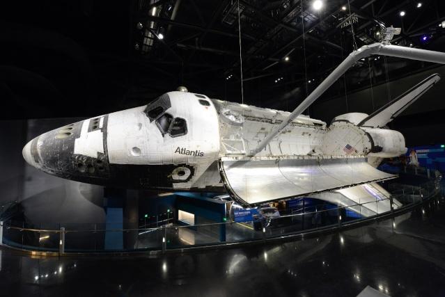 Les navettes spatiales Atlantis et Endeavour au musée Kenned11
