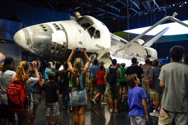 Les navettes spatiales Atlantis et Endeavour au musée Kenned12