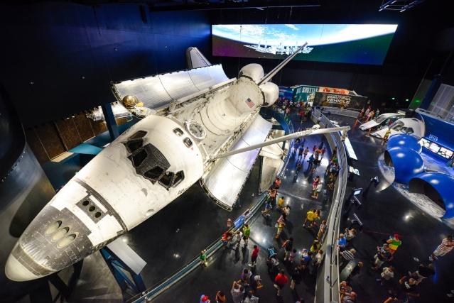 Les navettes spatiales Atlantis et Endeavour au musée Kenned13