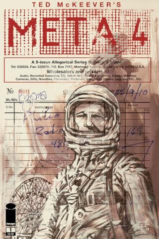 Comics - META 4 et astronaute Mercury / 2010 Meta4_10