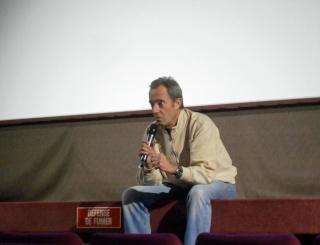 19 janvier 2015 - film Moonwalk One et l'astronaute Jean-François Clervoy à Saint-Maur (94) P1200010