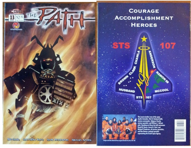 Comics - The Path et l'hommage à Equipage STS-107 / 2003 Page_b13