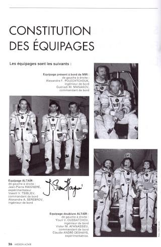 1er juillet 1993 - Mission Soyouz TM-17 Altaïr - 20 ans Soyouz10