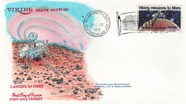 Philatélie spatiale USA - 1978 - Viking sur Mars Viking14